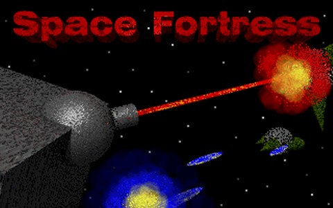 Space Fortress Title Screen